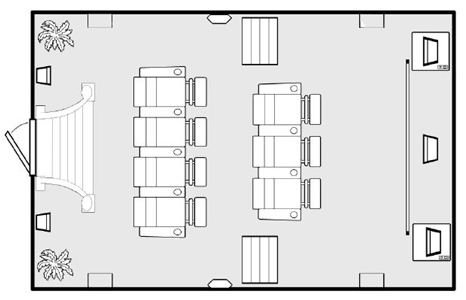 Home Theater Seating Layout Plan Images